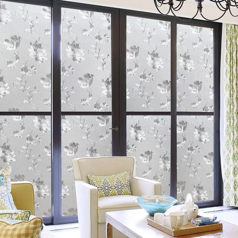 2 Vinyl Vitrage Transparent Stickers Decals for Glass Windows HOME DECORATING