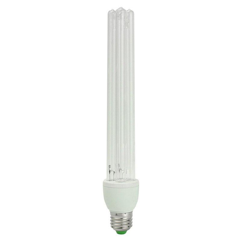 все цены на E27 UVC Ultraviolet UV Light Tube Bulb 20W Disinfection Lamp Ozone Sterilization Mites Lights Germicidal Lamp Bulb AC220V