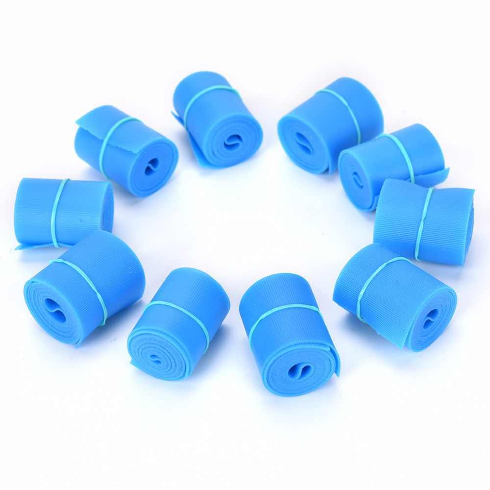 1 шт. Синий практические предметы первой помощи латекс спецодежда медицинская жгут для выхода на природу первой необходимости остановить кровотечение ремень