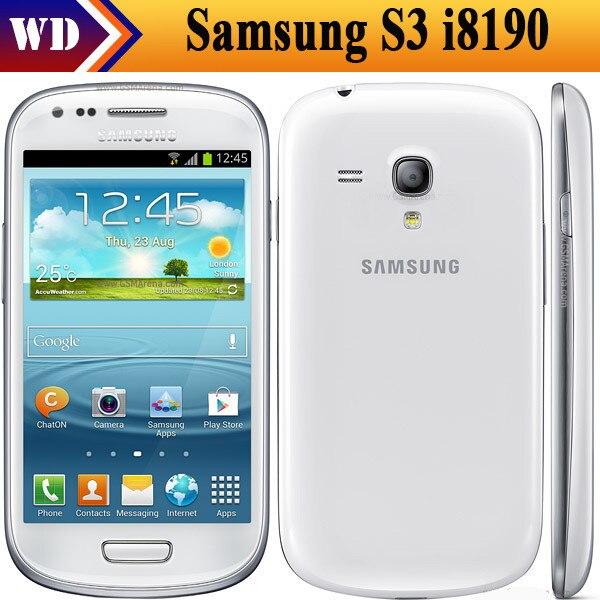 SIII mini Unlocked Original Samsung Galaxy S3 mini I8190 ...