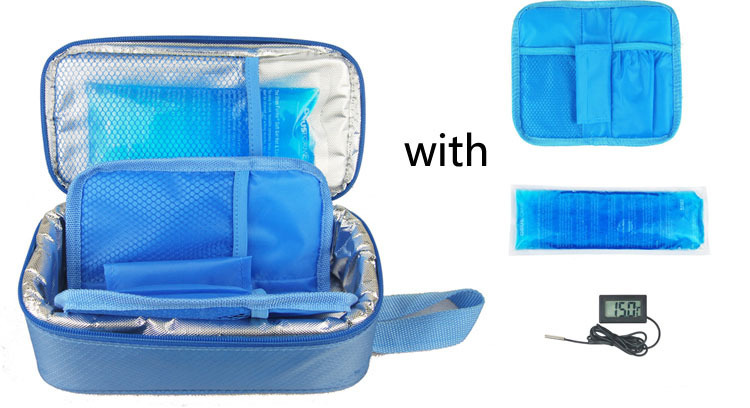Portable Insulated Insulin Cooler Bag