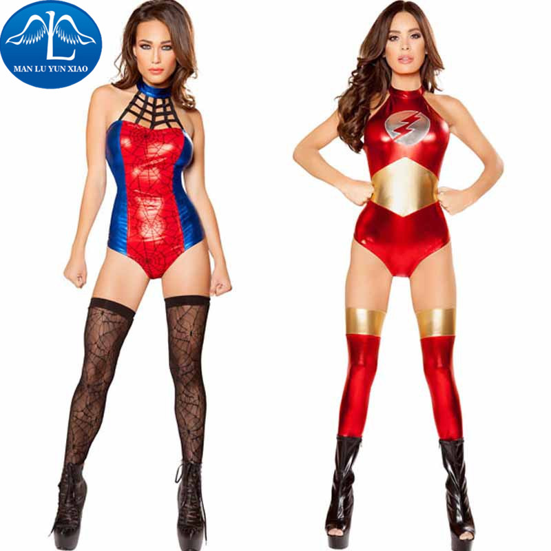 MANLUYUNXIAO New Super Woman Costume Halloween Cosplay Costume Woman Costume Dress Up Party Costumes Wholesale