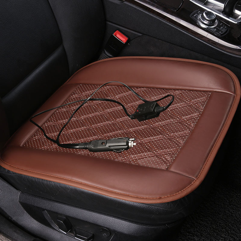 12v Car Seat Cover Winter car heated cushion car office chairs electric heated seat cushion carbon fiber electric heating in Automobiles Seat Covers from Automobiles Motorcycles