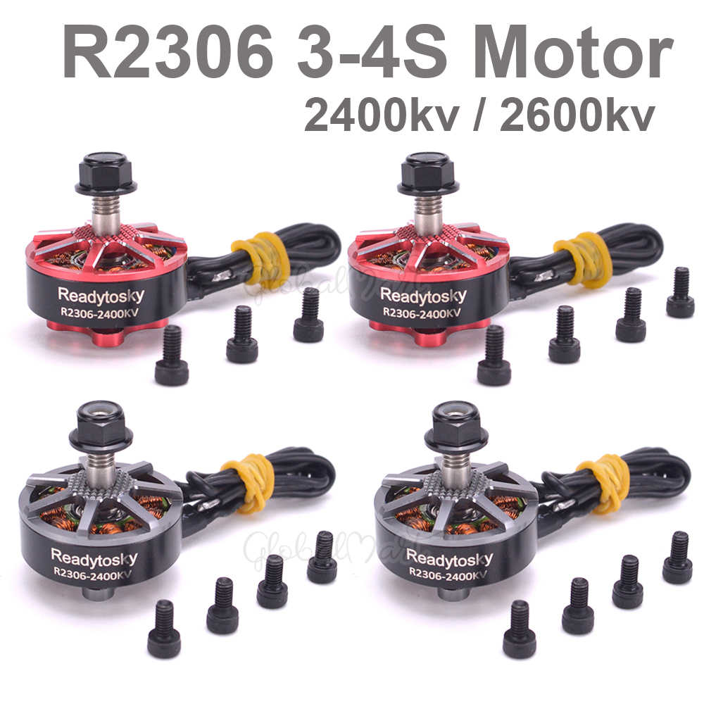 R2306 2306 2400KV / 2600KV FPV Brushless Electrical Motor 3-4S PK F40 PRO II FPV Freestyle Frame props RC Racing Drone