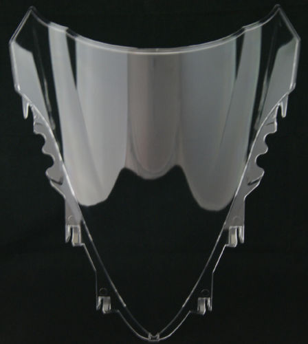 Motorcycle Double Bubble Windscreen Windshield Shield Screen For Yamaha YZF R1 2007 2008