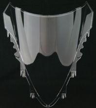Мотоцикл Double Bubble Ветрового Стекла Лобовое Стекло Экрана Щит Для YAMAHA YZF R1 2007-2008