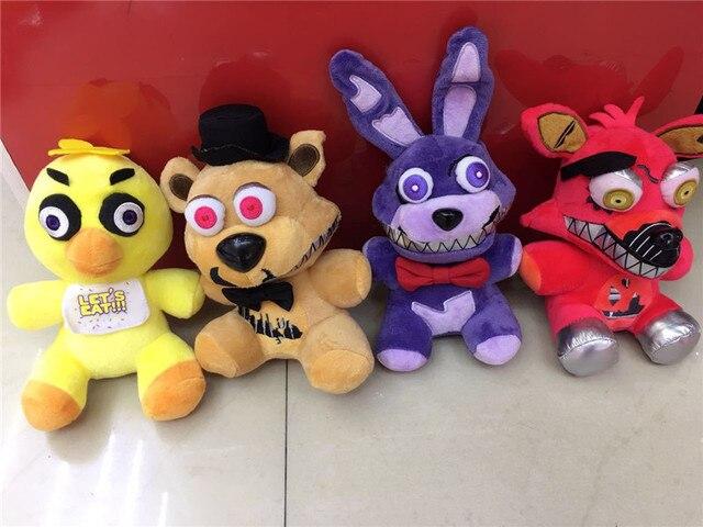 FNAF Lima Malam Di Lokasi Adik Mainan Mewah Freddy Freddy beruang Ballora  Foxy Bonnie Bayi Badut f754728d7d