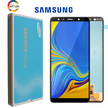 6.0'' Super AMOLED LCD For Samsung Galaxy A7 2018 A750 SM-A750F A750F Display With Touch Screen Assembly Replacement Part(China)