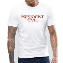 BLWHSA Resident Evil Men Fashion Short Sleeve T-shirts Man Casual T Shirt 2017 Summer O-neck Cotton Tops Tees tshirt homme