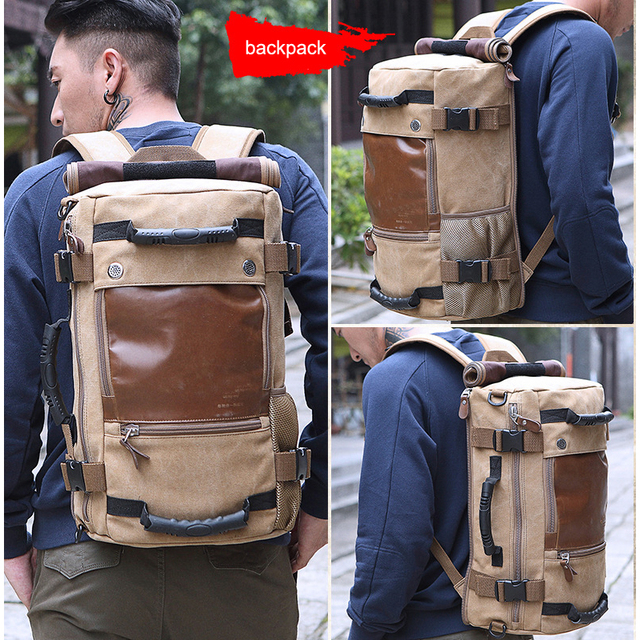 Stylish Travel Large Capacity Backpack Male Luggage Shoulder Bag Computer Backpacking Men Functional