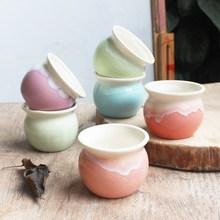 Hotsales Macarons цвет глазурованные керамические горшки для цветов