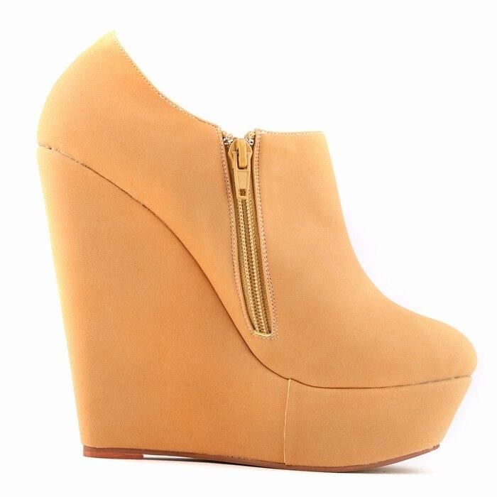 נשים עקבים נעלי עקב 2016 סתיו חורף בוטס - נעליים לנשים
