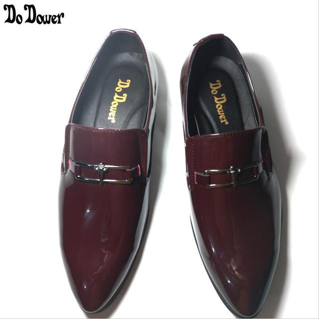 4a887d609ea 2019 Men s Dress Shoes Luxury Men Leather Casual Driving Oxfords Shoes Mens  Loafers Moccasins Italian Shoes for Men Flats 38-45