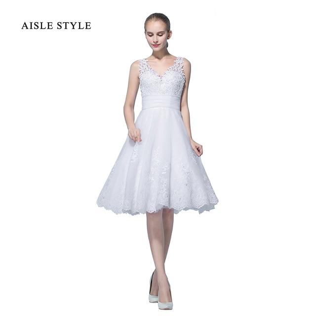 vintage vestidos de novia con mangas cap manga una línea de tul