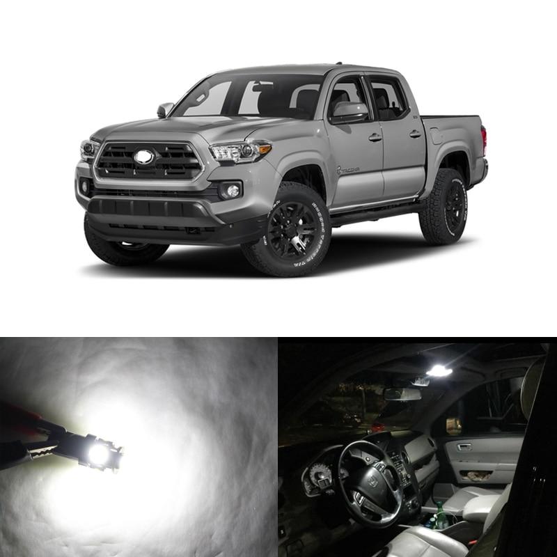 11pcs white led interior package kits for toyota tacoma - Toyota tacoma led interior lights ...