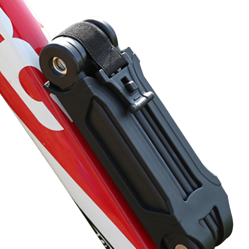Wholesale bicycle bike folding link plate lock with keys security anti theft free shipping