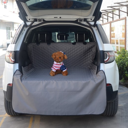 Car Cargo Liner High quality Oxford pet mat trunk Puppy Safety Waterproof mats Protector Rear Back pet Dog Car mat Seat Cover цена