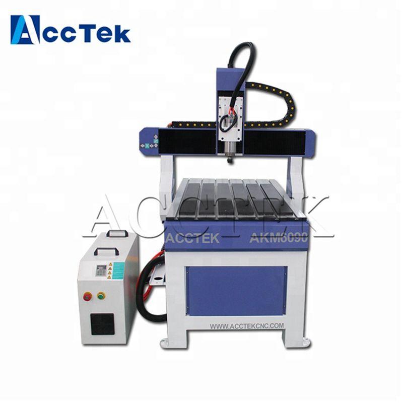 Usine bon prix 6090 mini 3d bois MDF graveur cnc machine entreprise à domicile artisanat cnc routeur