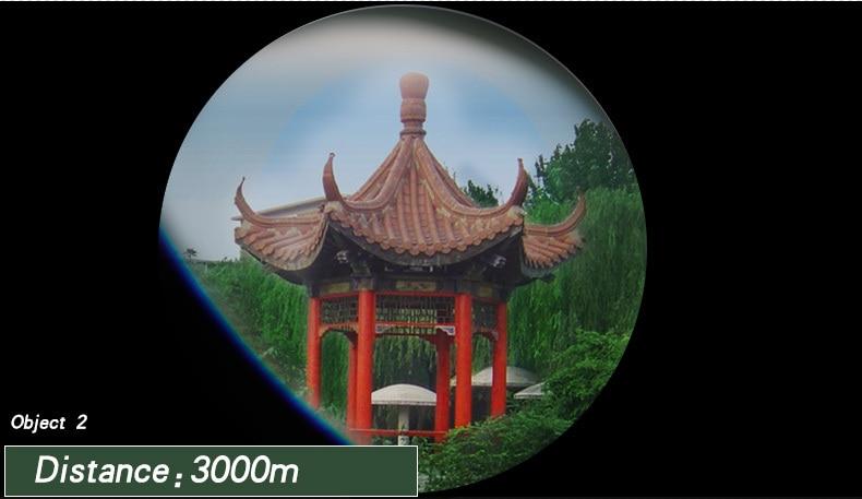 telescópio com zoom, visão de alta qualidade