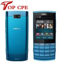 Восстановленное в исходном nokia x3-02 3g mobile телефон 5.0mp с русской клавиатурой 5 цветов на складе бесплатная доставка