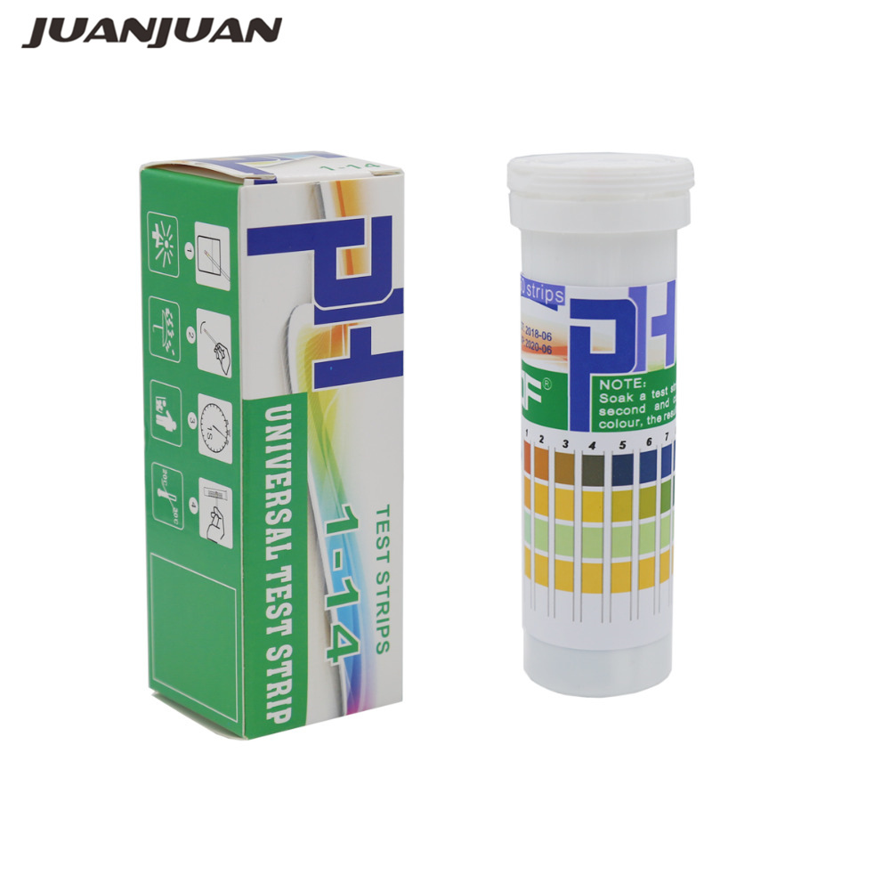 150 Strips Boxed PH Test Strips Range 1-14  Indicator Paper Tester Range 4.5-9.0 PH Test Strips For Saliva And Urine 15% Off