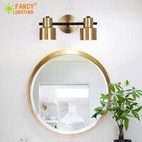 (E27 Bulb For Free)Modern 1 Pcs/2 Pcs/3 Heads wall light Bathroom mirror light for home/bedroom/living room/stair decor wandlamp