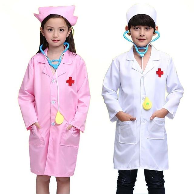 Children Doctor Role Play Costume 5 PCs Dress-Up Set Doctor Lab Coat Medical Kit  sc 1 st  AliExpress.com & Children Doctor Role Play Costume 5 PCs Dress Up Set Doctor Lab Coat ...