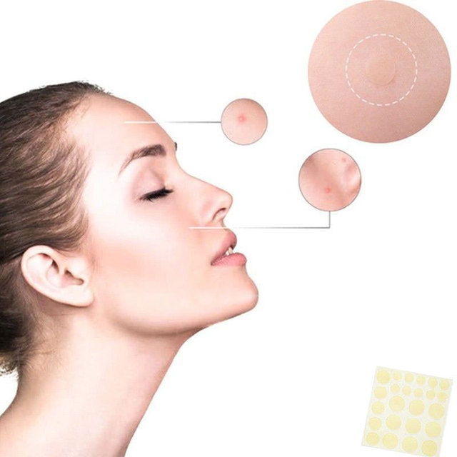 24 pcs Invisi Cosrx Acne Pimple Master Face Spot Scar Care Treatment Stickers Anti-inflammatory Invisible Acne Patch Face Beauty 4