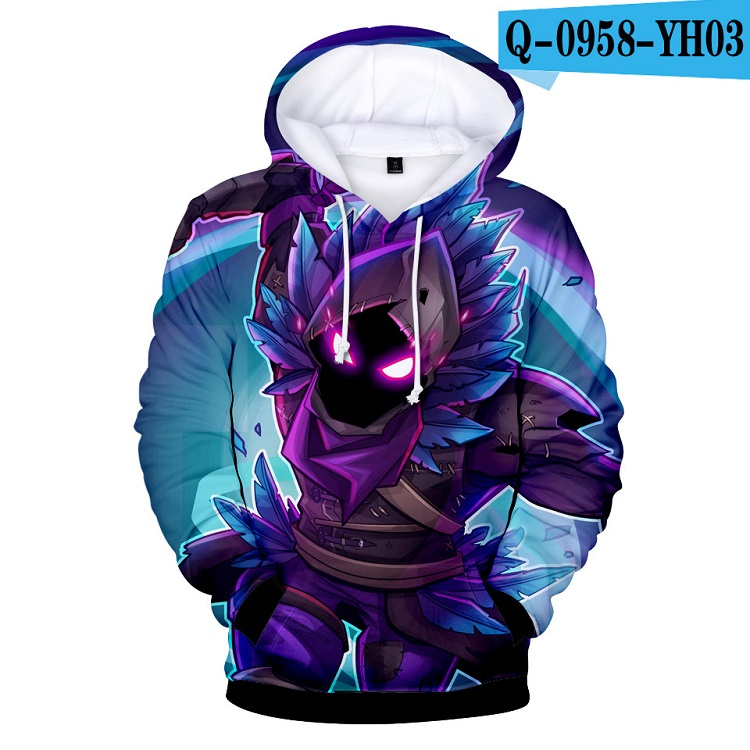 YLS 3d Hoodies Roblox Sweatshirts Cartoon Hoody Casual Trainingspakken Volle Farbige BlouseT-shrits Pullover Drop Schiff Streetwear