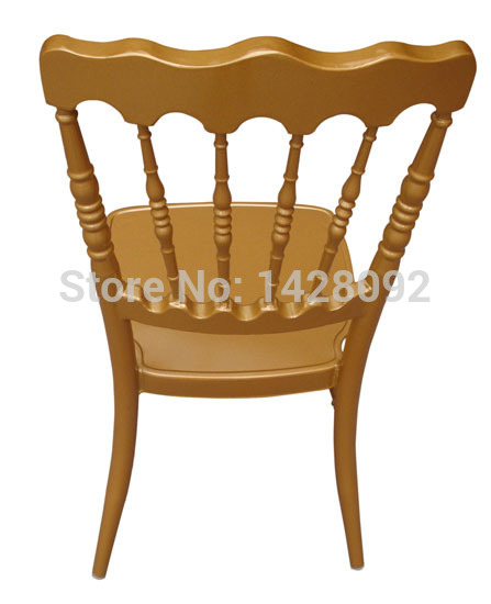 Купить с кэшбэком Wholesale Quality Strong Gold Aluminum Napoleon Chair