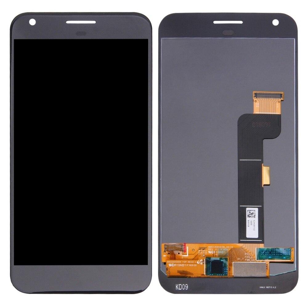 H Schermo LCD e Digitizer Assemblea Completa per Google Pixel XL/Nexus M1 (Nero)H Schermo LCD e Digitizer Assemblea Completa per Google Pixel XL/Nexus M1 (Nero)