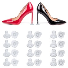 100 Pairs /Lot Heel Stopper High Heeler Antislip Silicone Heel Protectors Stiletto Dancing Covers For Bridal Wedding Party Favor