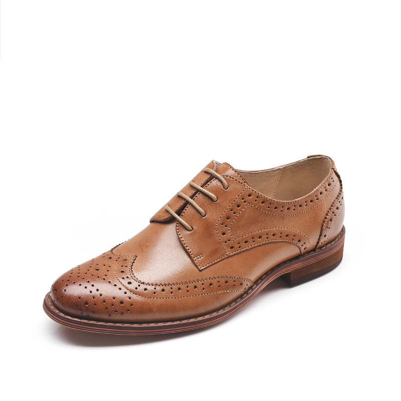 top quality s shoes genuine leather oxford shoes for