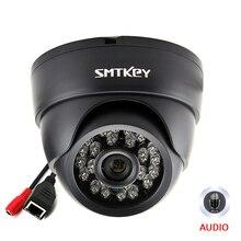 Onvif audio 720 P 960 p 1080 P ip-сетевая Проводная камера с микрофоном Встроенная ip-камера 1MP внутренняя ночного видения ИК-светодио дный камера
