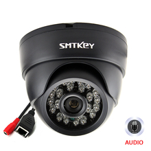 SMTKEY Onvif audio 1080P IP Telecamera di rete con Microfono built in 2MP/4MP/5MP dellinterno di visione notturna di IR LED Macchina Fotografica del IP