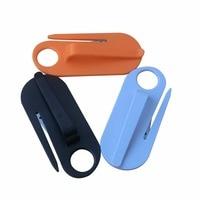 5Pcs Useful Mini Safety Belt Cutting Knife Hanging Type Seatbelt Cutter With Hook Seat Belt Safety