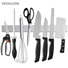 DONGZHI 16 Inch Magnetic Knife Holder Stainless Steel Knife Block Magnetic Knife Rack Strip Kitchen Knives Bar For Metal Tools