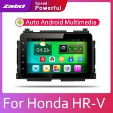 ZaiXi Android 2 Din Car radio Multimedia Video Player auto Stereo GPS MAP For Honda HR-V 2013~2019 Media Navi Navigation цена