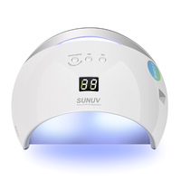 ROSALIND Nail Dryer UV Lamp LED For a Manicure Gel Varnish Curing SUN6 Smart Home Use/Nail Salon Nail Art Tools