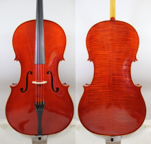 "Master level!Copy Stradivari 1712 Davidov Cello 4/4! ""All European Wood"""