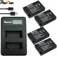 LPE17 LP E17 LP E17 Battery + LCD USB Dual Charger for Canon EOS 200D M3 M6 750D 760D T6i T6s 800D 8000D Kiss X8i Cameras