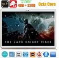 10 pulgadas 3G 4G LTE tablet pc Octa core 1280*800 5.0MP 4 GB 32 GB Android 5.1 Bluetooth GPS 7 9 10 MEDIADOS tableta DHL Libre
