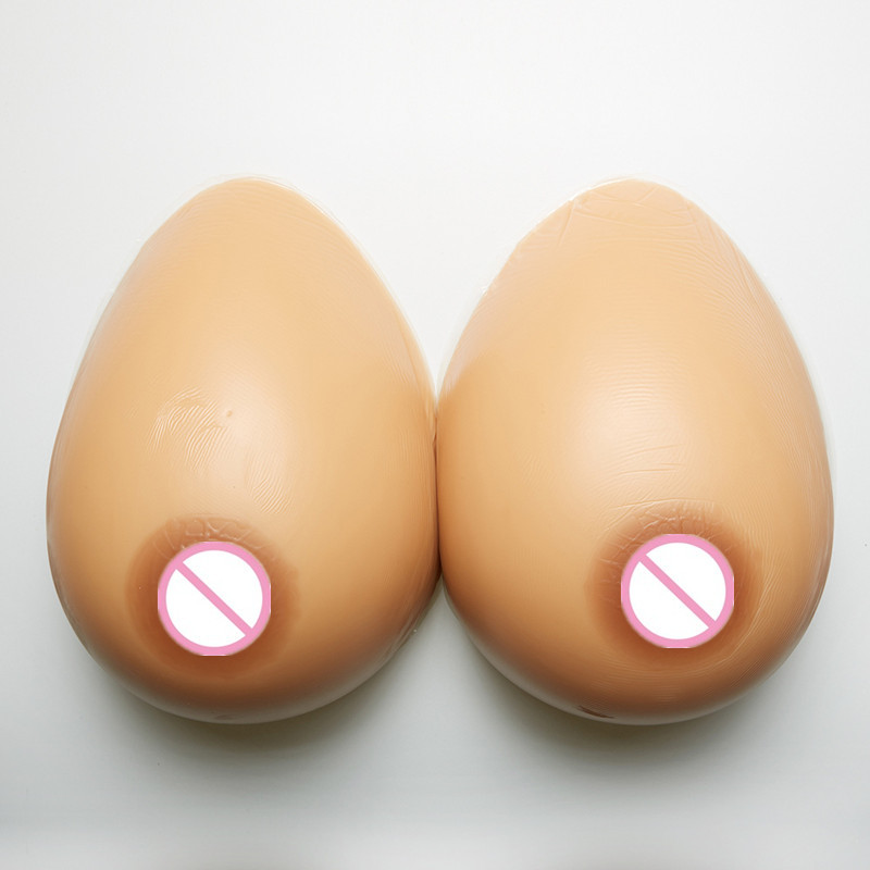 Topleeve 5000g/pair Huge Silicone False Breast Boobs Forms Transvestites Enhancer Insert Artificial Breasts cosplay accessories
