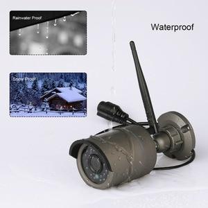 Image 4 - Techage 1080P del CCTV di WIFI IP Della Macchina Fotografica 12 Pollici Monitor LCD Wireless NVR Sistema di 2MP HD Audio Suono P2P Video CCTV di Sorveglianza Kit Set