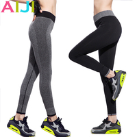 Women High Waist Stretched Sport Running Pants Gym Tights For Female Fitness Leggings Quick Drying Trousers