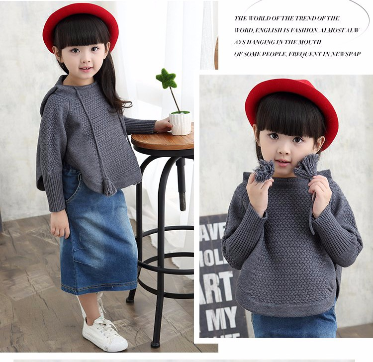 child hooded knitted sweaters 15