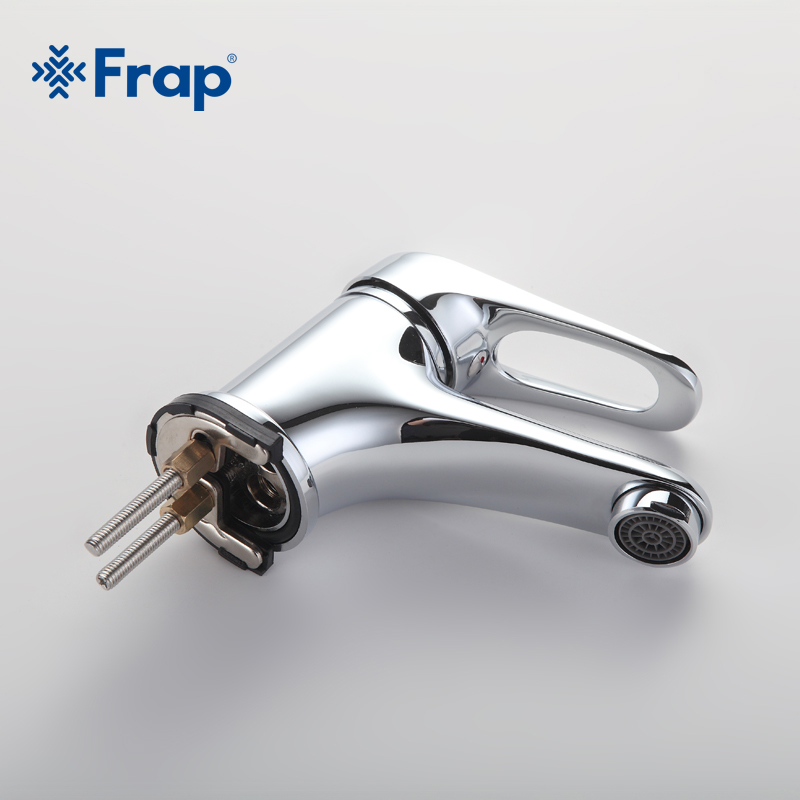 Image 3 - FRAP mini Stylish elegant Bathroom Basin Faucet Brass Vessel Sink Water Tap Mixer Chrome Finish  F1013  F1036-in Basin Faucets from Home Improvement