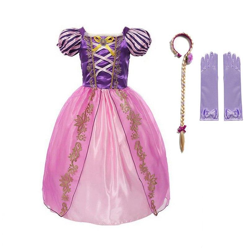 746bd7051e678 Hot Sale] Girl Dress Arabian Princess Jasmine Dress up Rapunzel ...