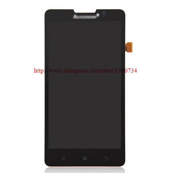 High Quality Replacement LCD Display Touch Digitizer Screen Assembly Complete For Lenovo P780 Free Shipping high quality 5 3 for lenovo s898 s898t lcd display touch screen digitizer assembly replacement tools free shipping