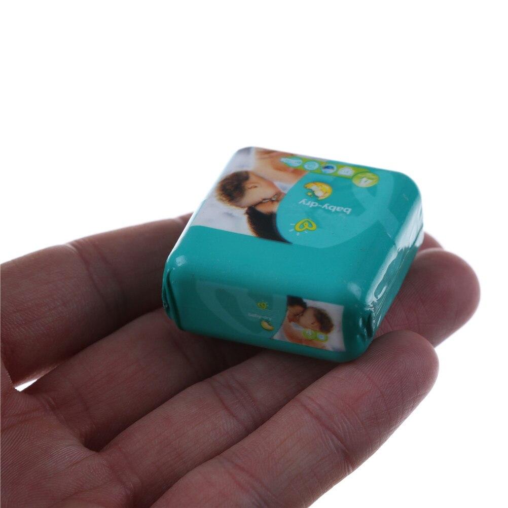 Mini Pocket Diaper Napkin Tissue DIY 1: 12 Dollhouse Miniature Doll House Children Room Accessories